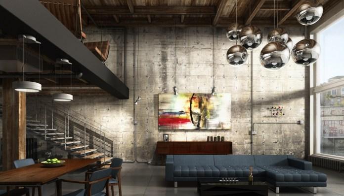 Industrial Loft Apartments Marvelous
