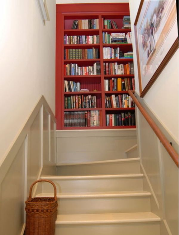 Library for staircase landing