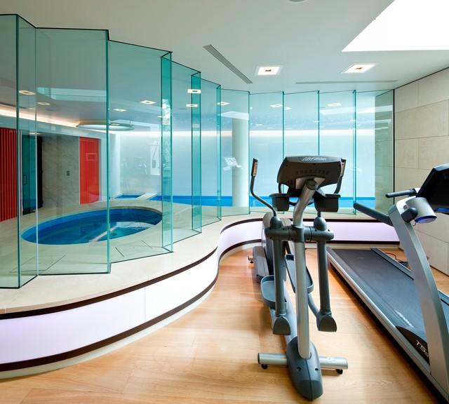 London modern-home-gym