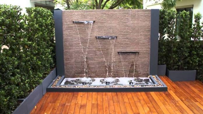 Water Feature for Modern Garden