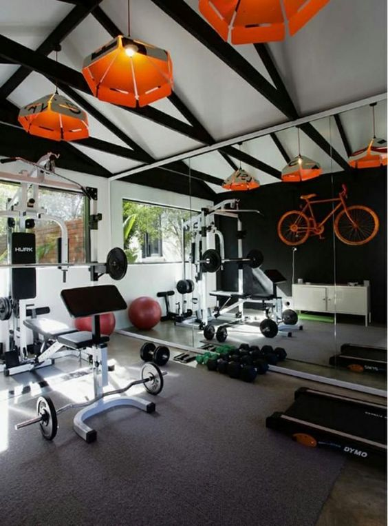 ultra modern home gym