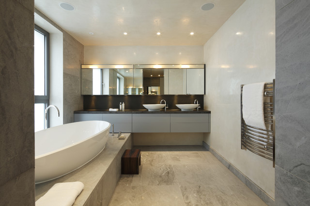 30 Classy And Pleasing Modern Bathroom Design Ideas