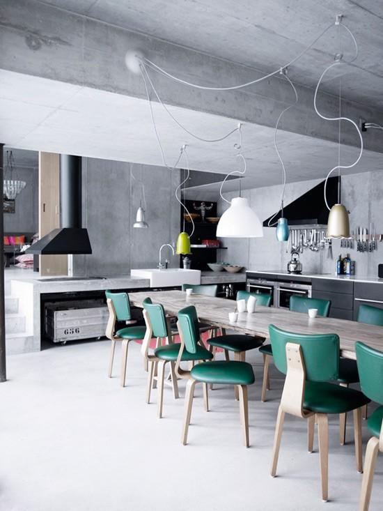 Inspiring Industrial Kitchen Design