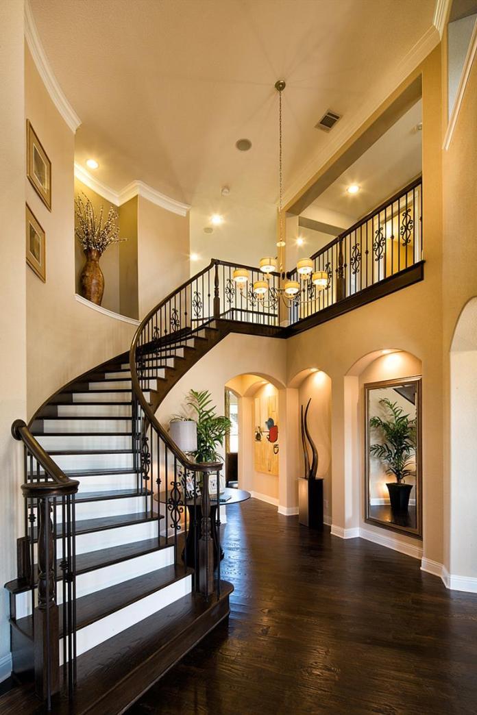 Luxury Foyer Decorating And Design Ideas (8)