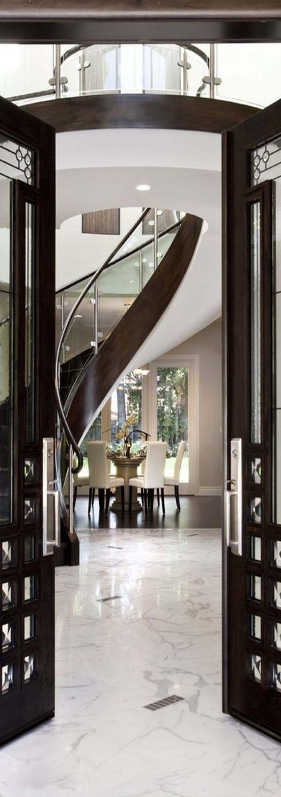 Luxury Foyer Decorating And Design Ideas (9)