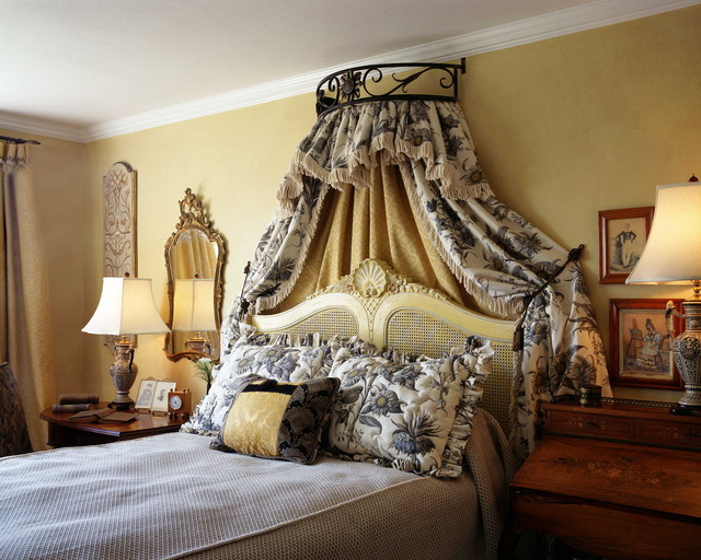 Mansion French Bedroom traditional-bedroom