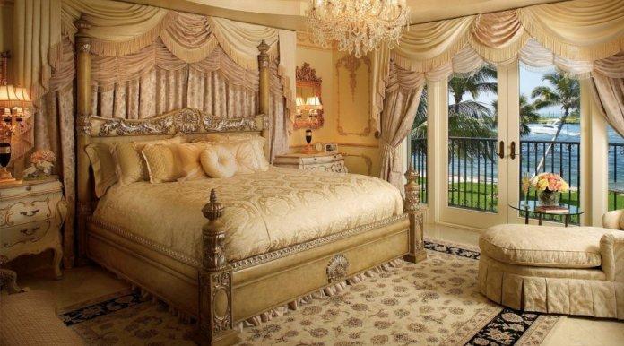 Palatial master baedroom