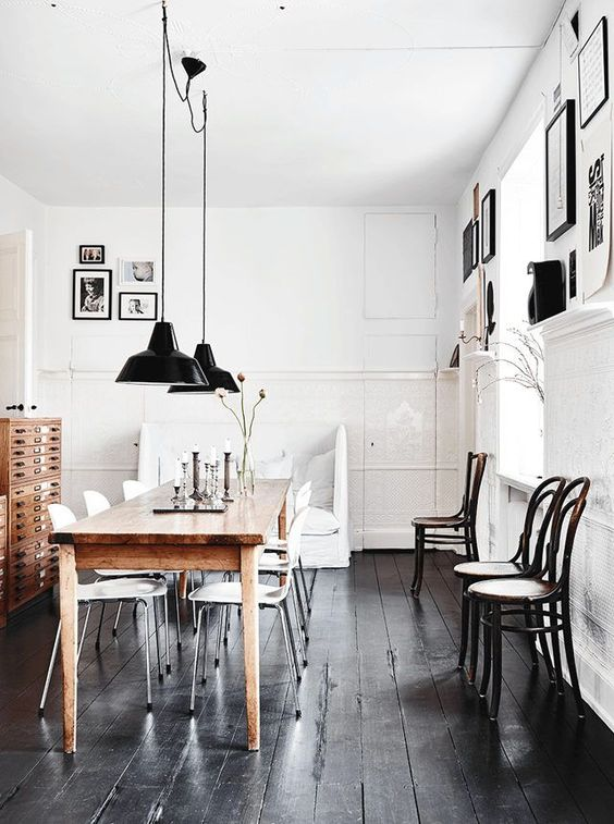 Stunning scandinavian dining