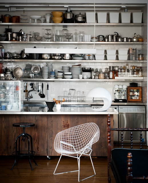 The Glass Farmhouse Loft industrial-kitchen