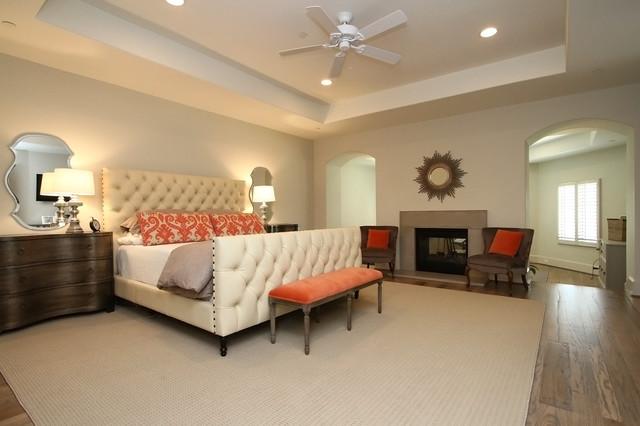 Transitional Bedroom contemporary-bedroom