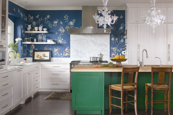 Trendy Eclectic Kitchens