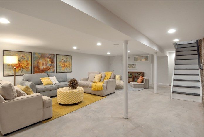 Basement Concrete Floors Design Ideas