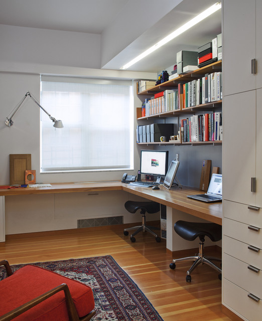 Contemporary Home Office Design Ideas that Will Increase Your Productivity for Sure