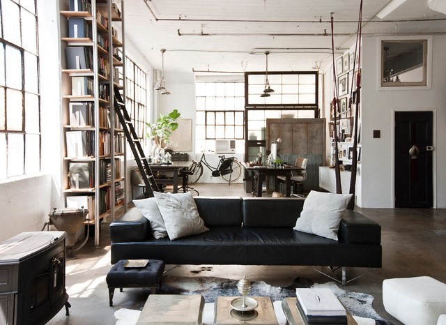 industrial-living-room-ideas