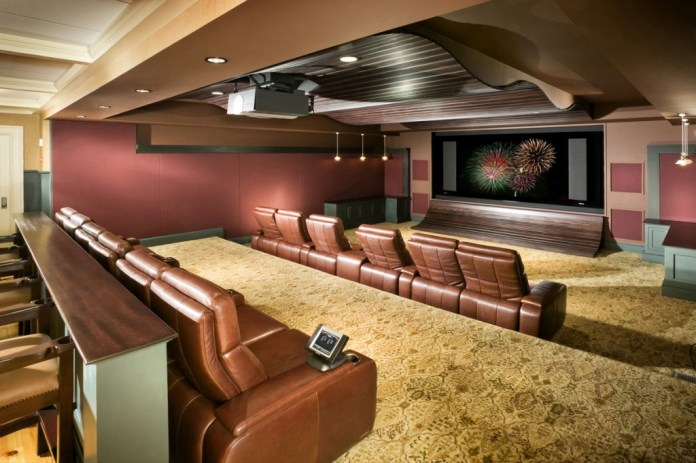 Contemporary Basement Design