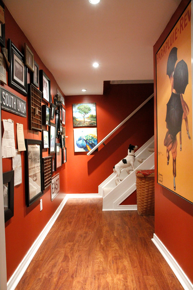Eclectic Basement Design