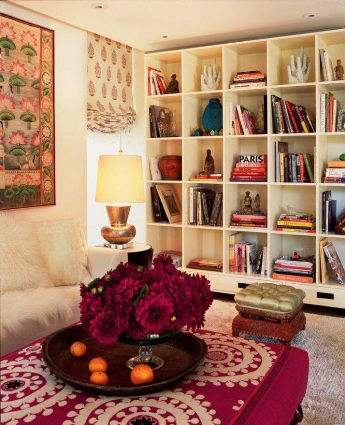Elegant Bohemian Living Room