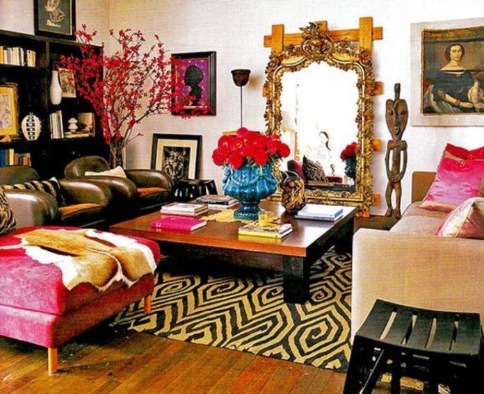 Gorgeous Bohemian Living Room