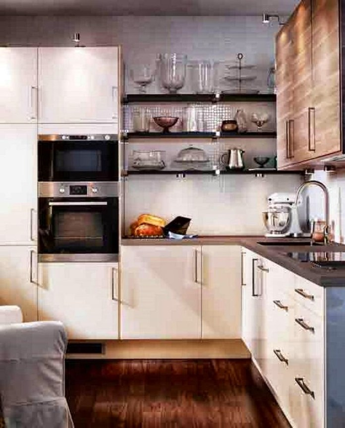 L-shaped-small-kitchen-design