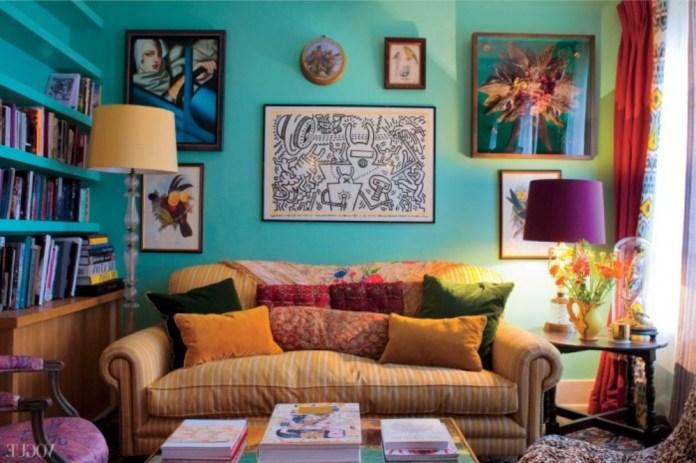 Rustic Bohemian Living Room