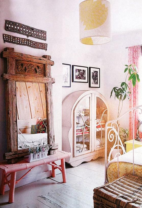 Scandinavian eclectic kids bedroom