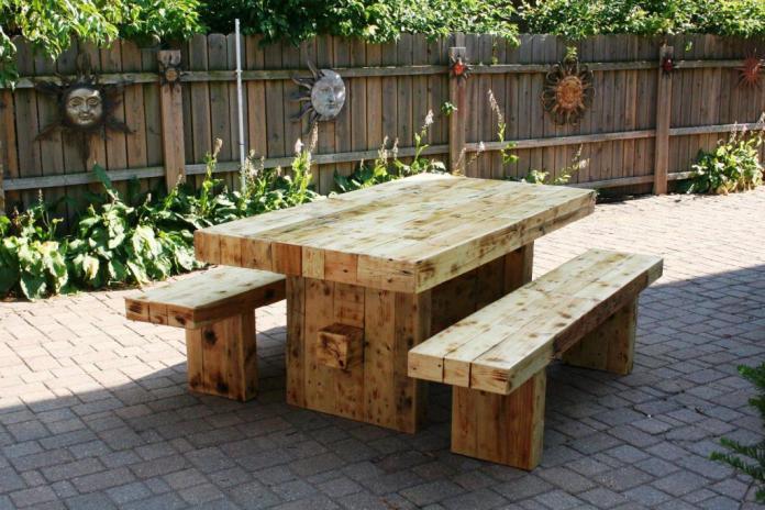 Top Rustic Outdoor Furniture Ideas