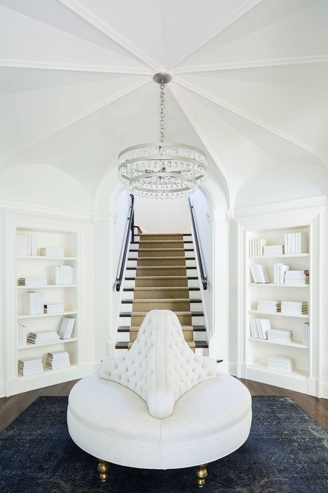 Traditional Entry Decor with Chandelier Ideas in Minneapolis