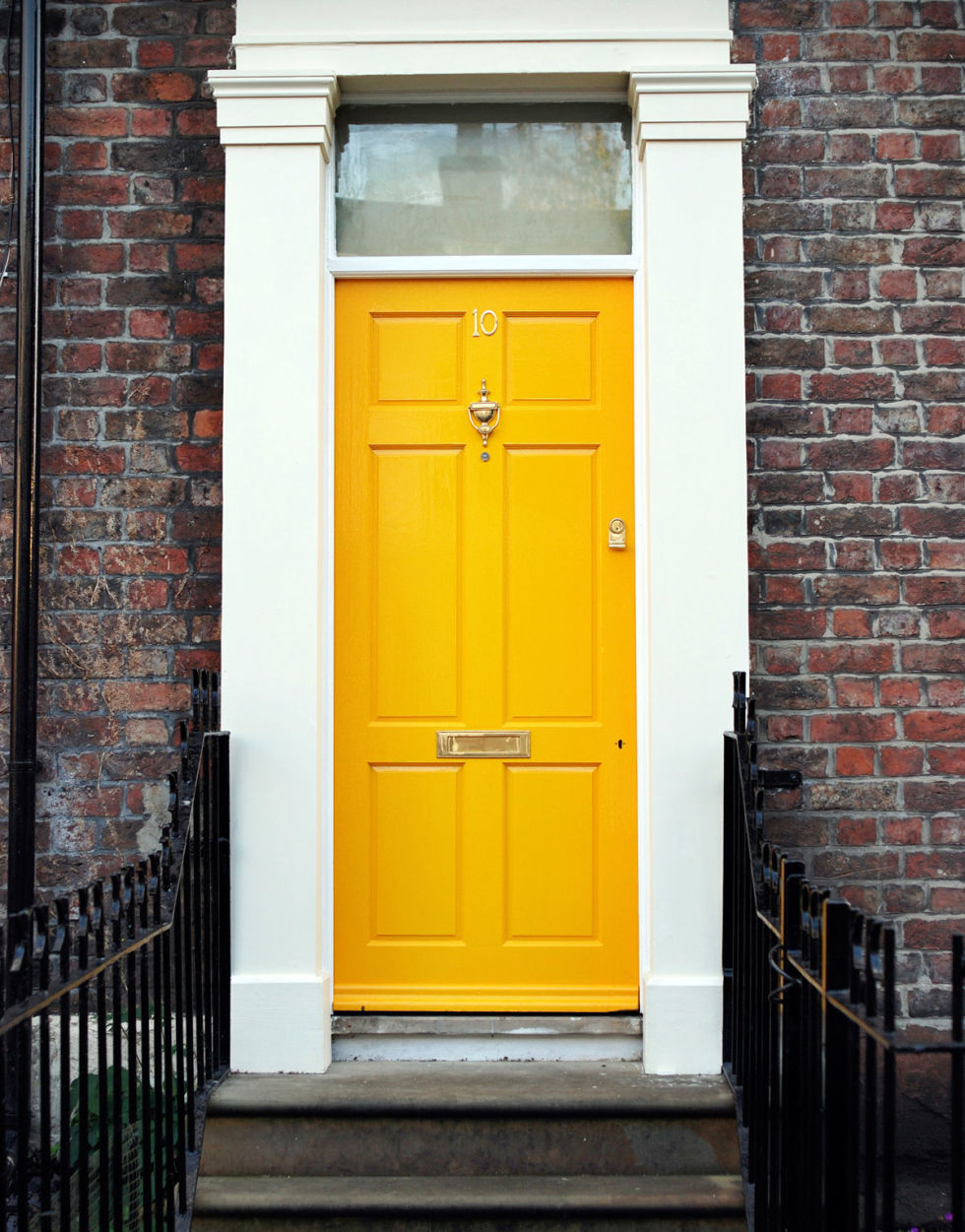 golden-yellow-front-door
