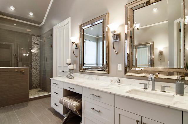 Beckington Master Bathroom transitional-bathroom