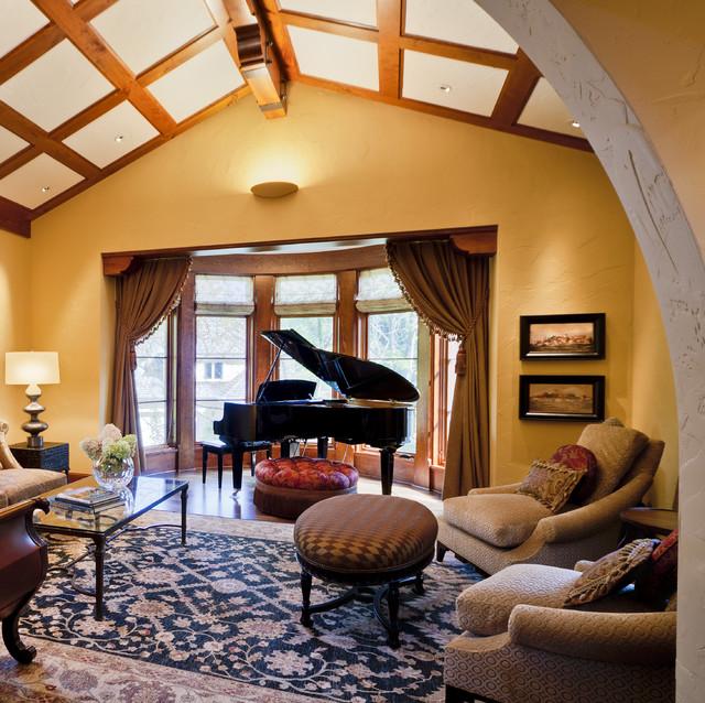 Tuscan Living Room Ideas (6)