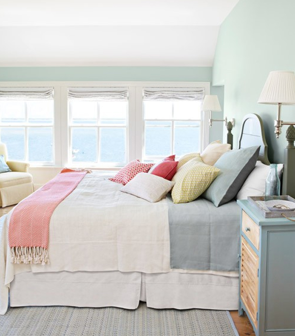 Charming Pastel Bedroom