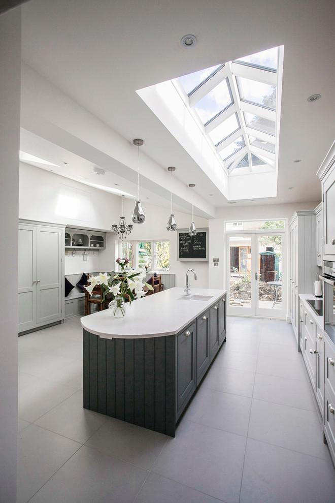 Contemporary Kitchen Island1