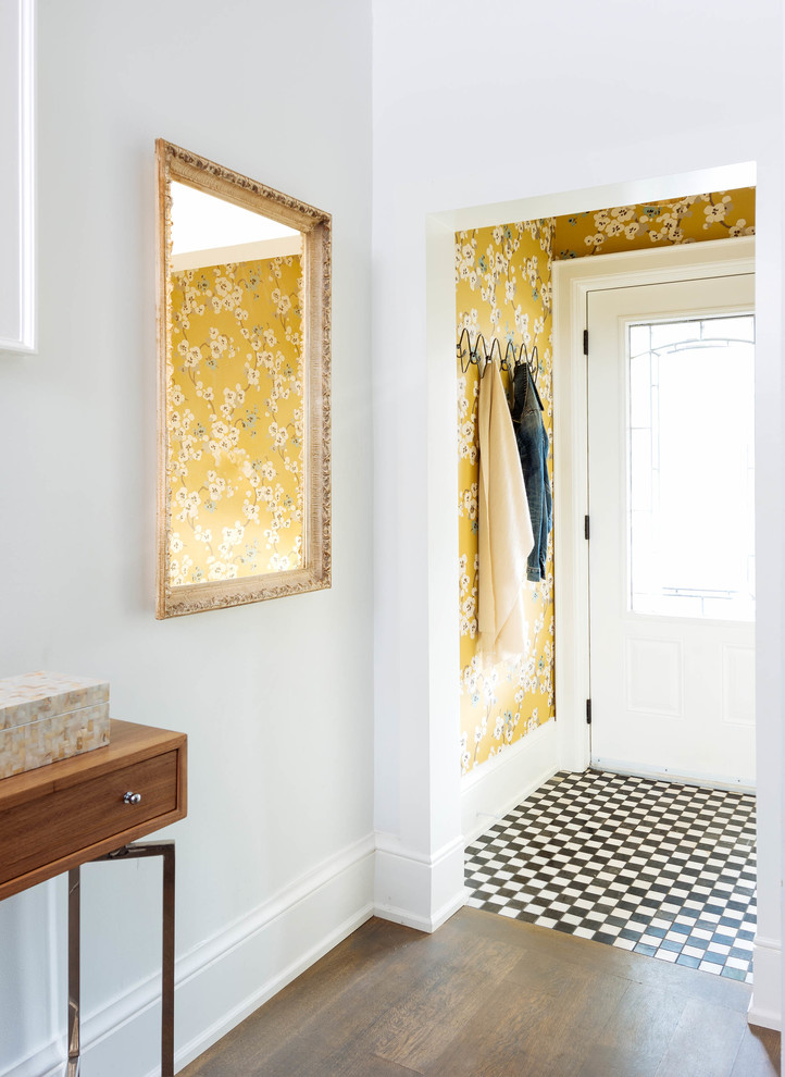 Eclectic Entry design
