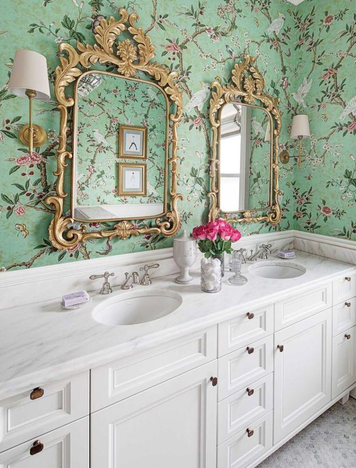 Girls Bathroom Wallpaper