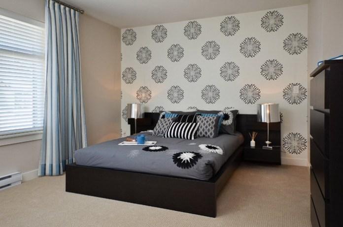 Impressive Contemporary Bedroom Wallpaper