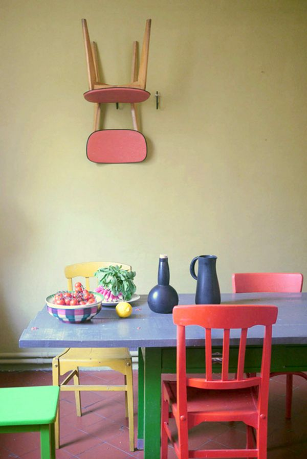 Stunning Colorful Dining Room (11)