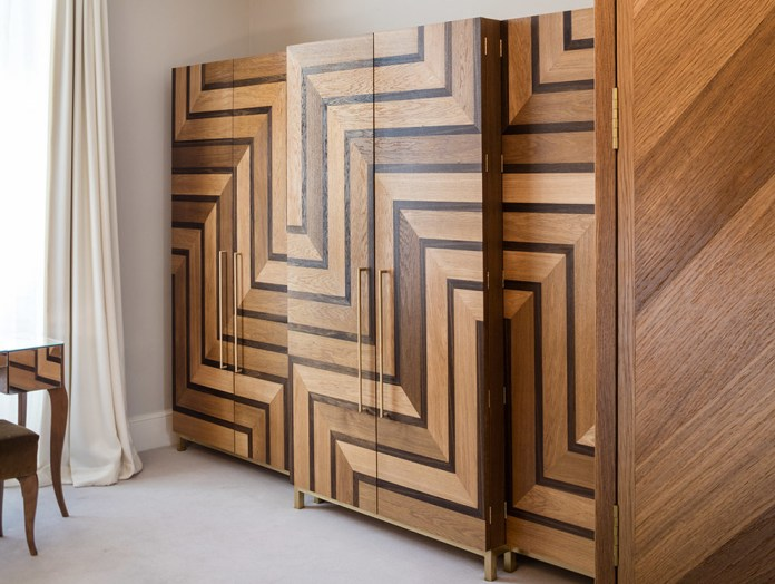 Custom Wooden Wardrobe