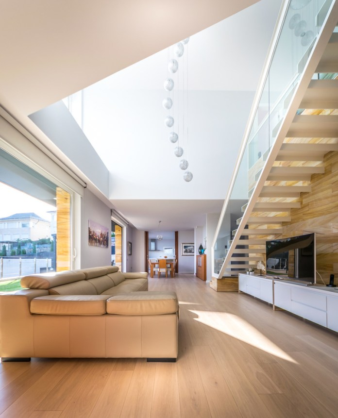 Contemporary Family Room Design