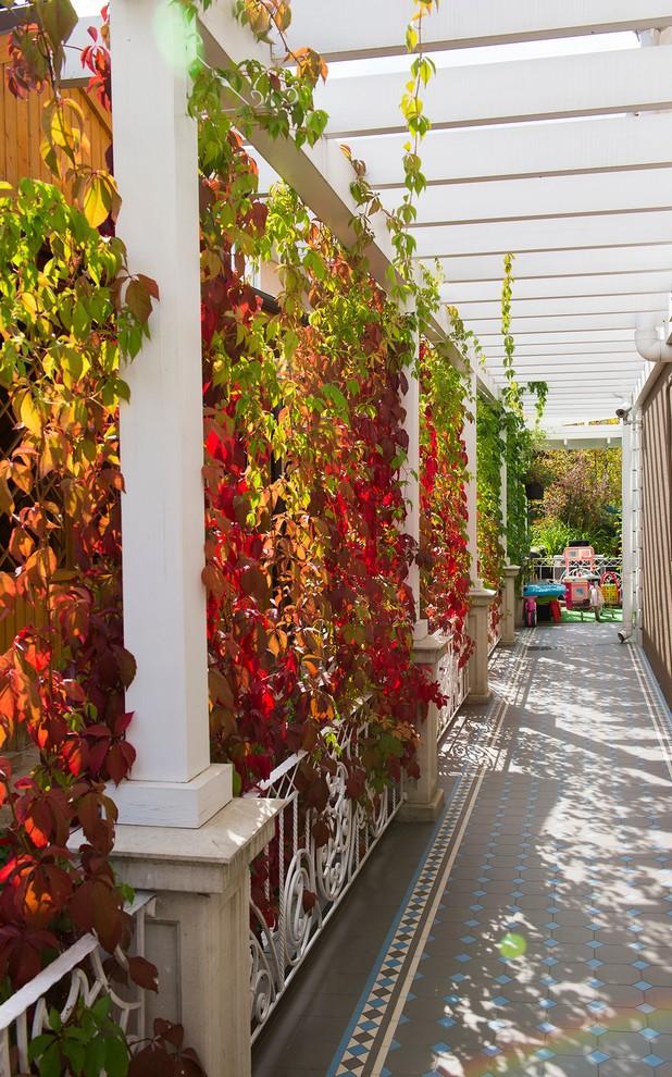 Mediterranean Porch Design