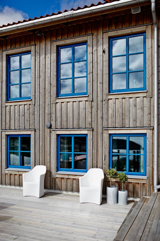 Scandinavian Porch Design