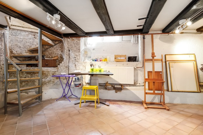 eclectic-basement-design