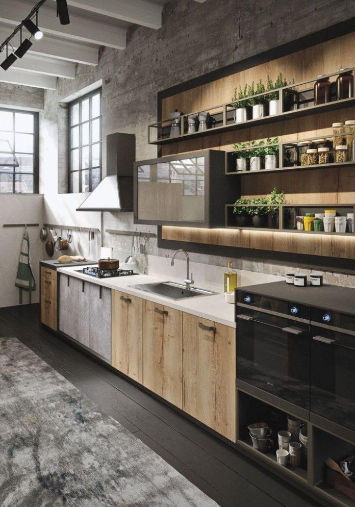 industrial-contemporary-kitchen