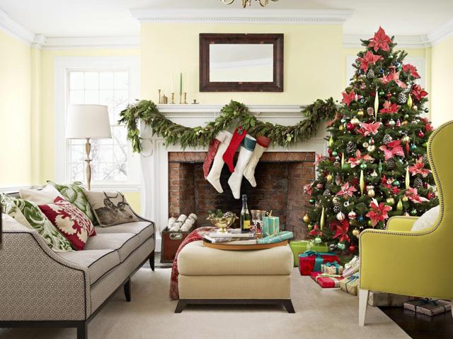 living-room-christmas-decoration