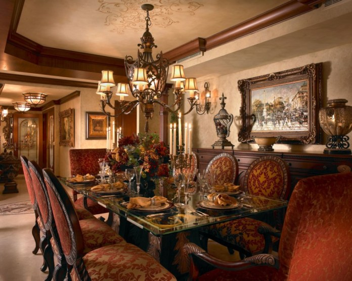 luxurious-traditional-dining-room