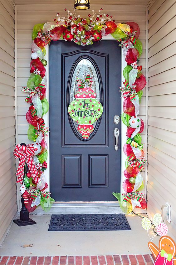 mesh-garland-christmas-wreath