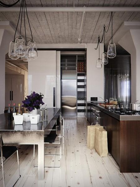 metal-surface-industrial-kitchen