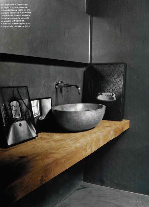 wooden-counterop-concrete-bathroom