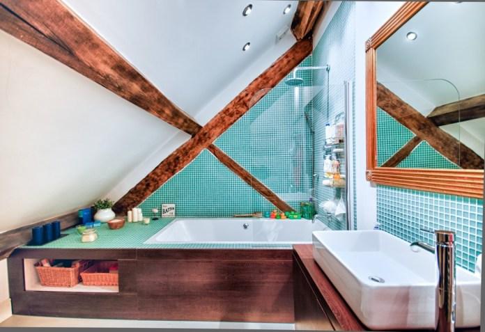 Rustic Kids Bathroom