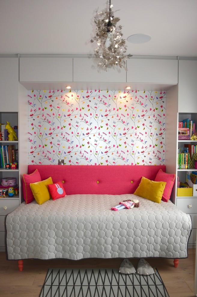 Craftsman Colorful Kids Bedroom