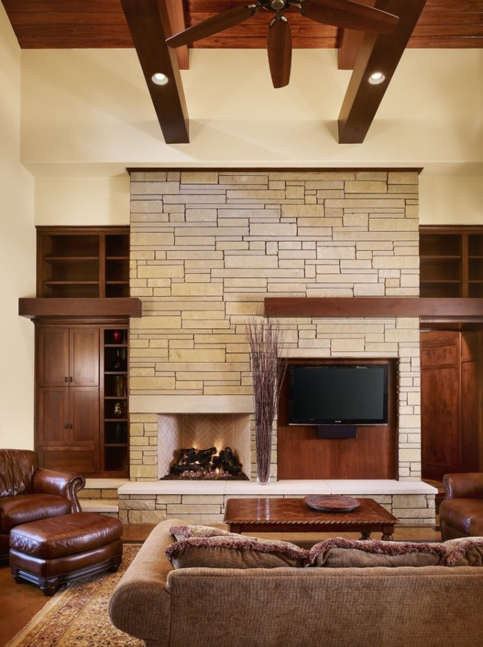 Craftsman Tv Room Design